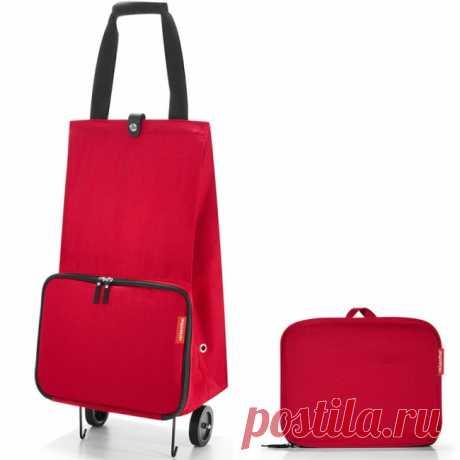 """Стильная складная сумка на колесиках """"Foldabletrolley"""" - 2560 руб. Отличное решение для тех, кто не любит таскать тяжелые сумки и пакеты. Главный её плюс в том, что она складывается до супер-компактного размера, так что её легко хранить и брать с собой."""
