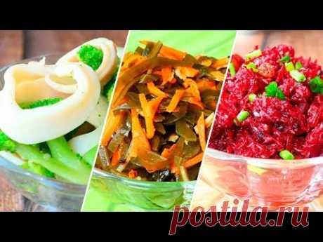 Морской салатик с брокколи — Кулинарная книга - рецепты с фото