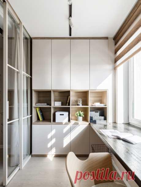 До и после: Квартира, где гостиную поменяли местами с детской | Houzz Россия