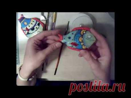 Мастер-класс от Елены Мисюна: игрушка девочка из ваты.