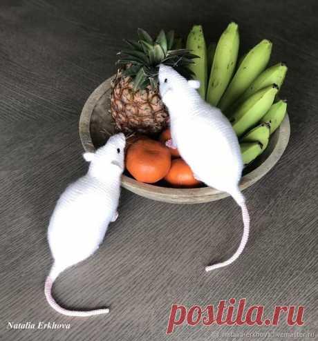 Вяжем крючком реалистичную крысу — символ 2020 года Сложность: средняя