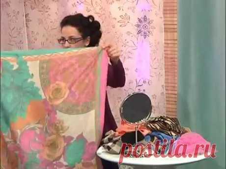 Как красиво завязать шейный платок?