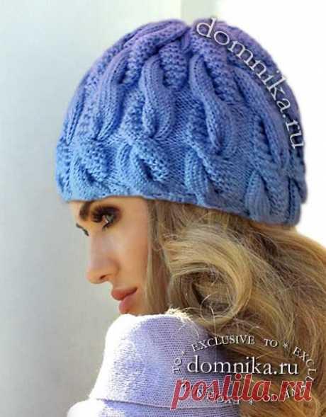 Женская вязаная шапка спицами крючком 64 шапочки со схемами и описанием