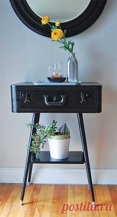 Little table from suitcase \/ Furniture \/ the Fashionable website about stylish alteration of clothes and an interior