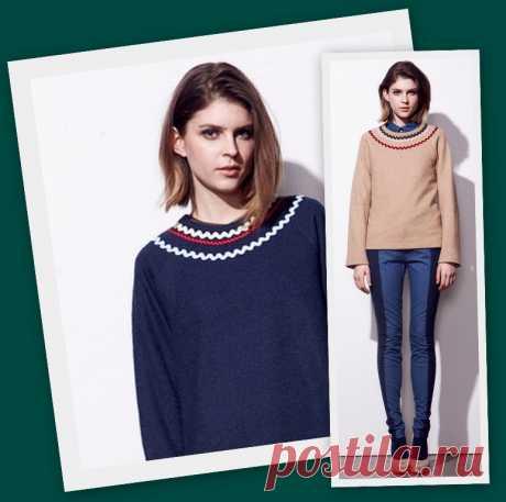 Декор свитера + переделка джинсов / Декор / ВТОРАЯ УЛИЦА