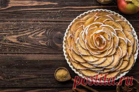5 десертов, где мало теста и много яблок