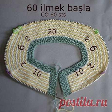 Вязание-спицы >Реглан  #вязание