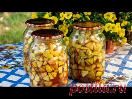Консервированные «Райские яблочки», сладкая заготовка!
