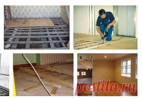 How to level a floor plywood: the step-by-step instruction for the house master.