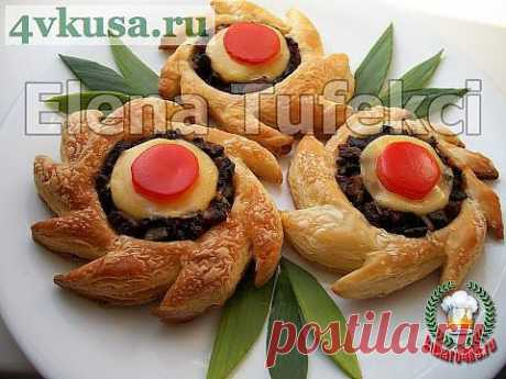 Закусочные слойки «Фантазия» | 4vkusa.ru