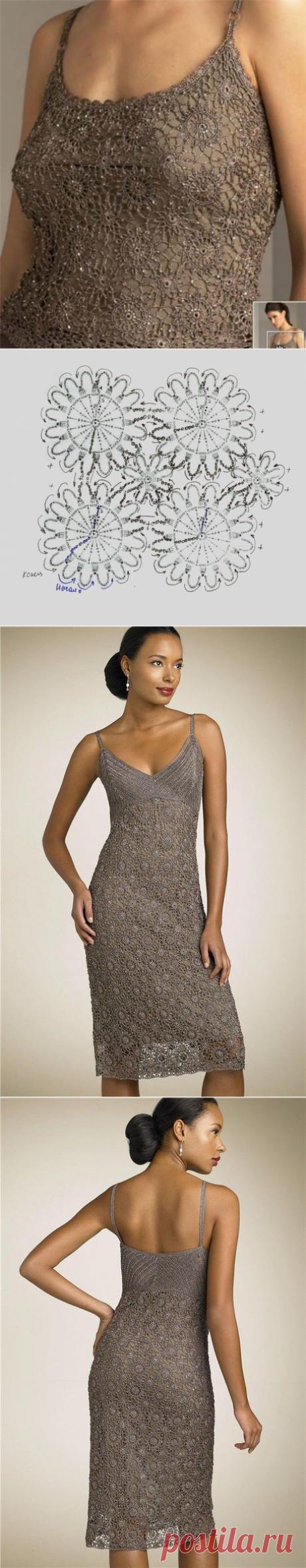 Вечернее платье   Шкатулочка для рукодельниц