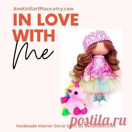 Interior Tilda Doll Fabric Art Doll Handmade Soft Doll | Etsy
