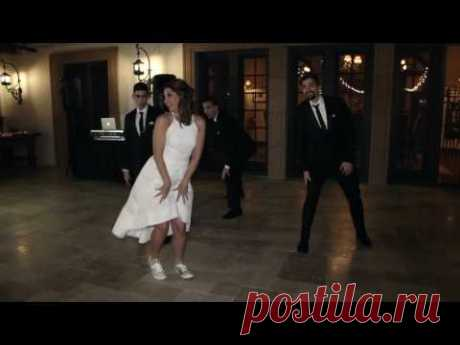 BEST MOTHER-SON DANCE EVER!! - YouTube