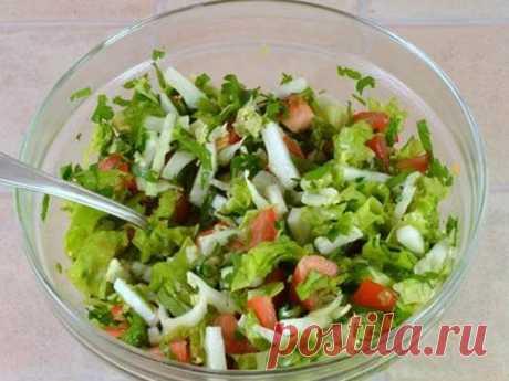5 рецептов диетического салата из пекинской капусты - DiabetDieta