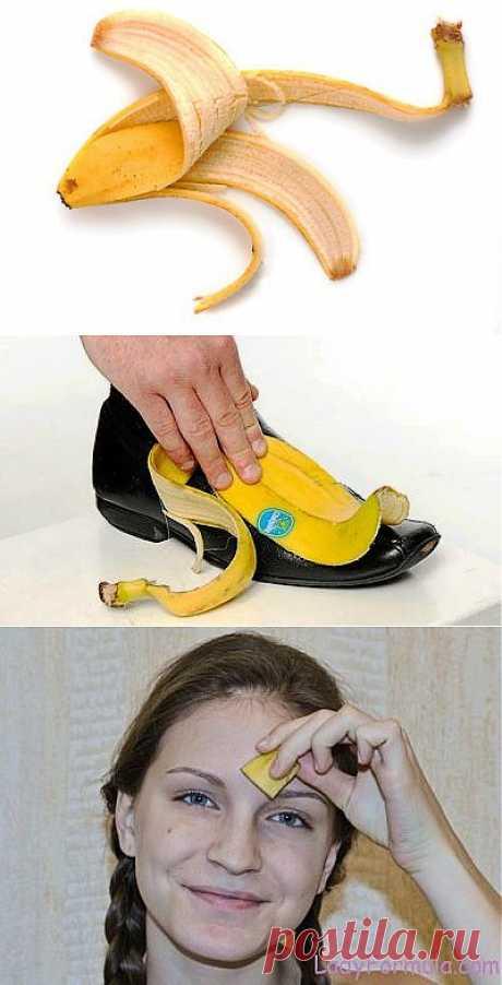 Безотходное производство: используем банановую кожуру / Домоседы