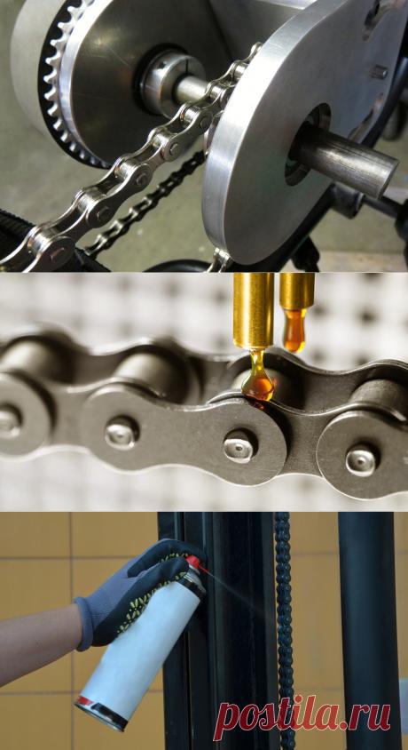 Смазка для цепей: простое средство для предотвращения быстрого износа цепных передач