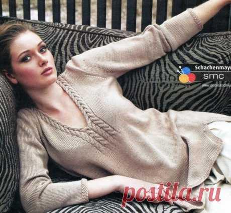 Пуловер. Вязание спицами. 10 моделей. Схемы. | Марусино рукоделие | Яндекс Дзен