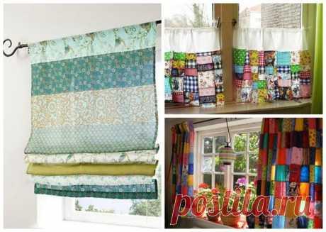 Выбираем шторы для кухни: идеи, фото