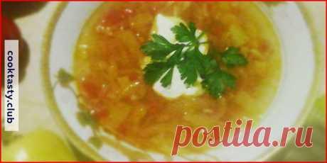 Суп из перцев . Милая Я