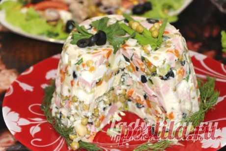 Салат Оливье по-новому, рецепт с фото пошагово | Простые рецепты с фото