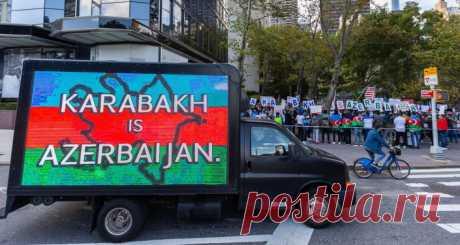 """Иностранцы выступили в соцсети с лозунгами """"Карабах - это Азербайджан"""" Sputnik Азербайджан говорит то, о чем другие молчат"""