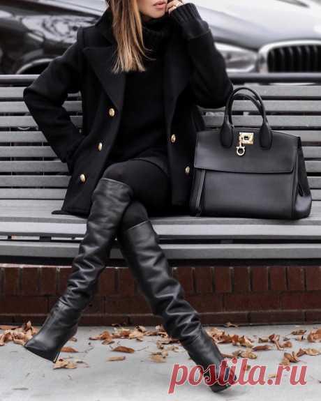 С чем носить пальто женщинам 40-50 лет - 20 стильных идей
