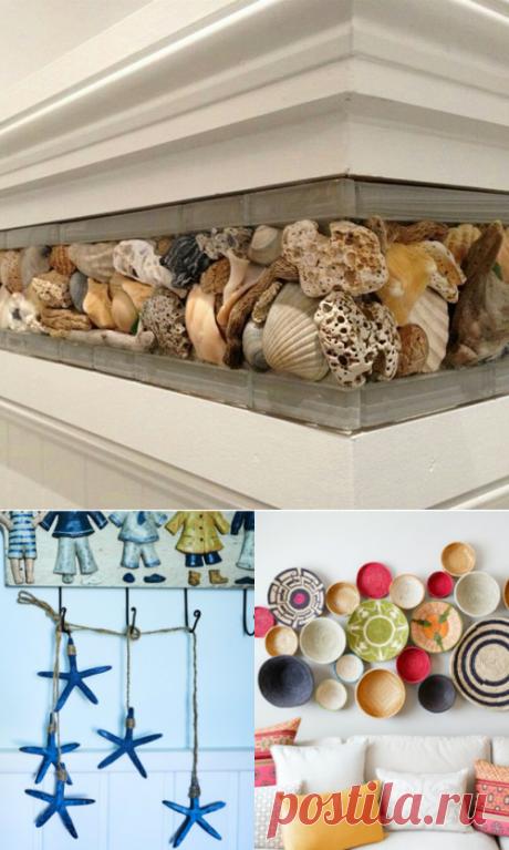 5 способов использоваь в интерьере сувениры из отпуска — Мой дом