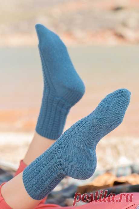 Вязание носков спицами и крючком, схемы и описания - Вяжи.ру