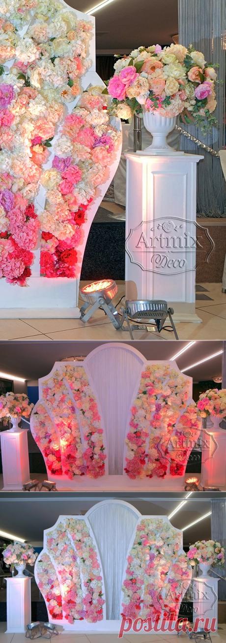 Фотозоны   Аренда свадебных декораций в СПб - Артмикс Декор