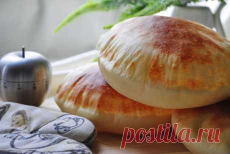 Пита простой рецепт вкусной домашней лепешки – пошаговый рецепт с фотографиями