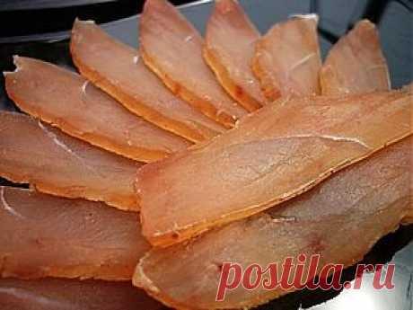 Балык из куриной грудки | Банк кулинарных рецептов