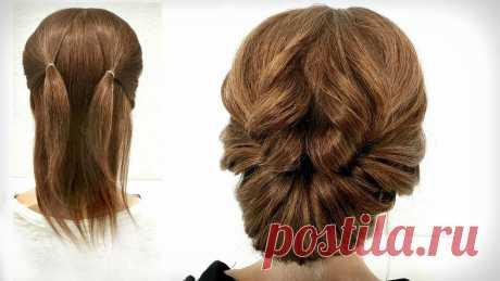 Прическа на Короткие волосы. Просто сделать СЕБЕ! Hairstyle for Short Hair. Just Make Yourself! 🌸ПоДпИсЫвАйТеСь на кАнАл и сМоТрИте нОвИнКи 😉👉https://clc.to/mayaevstafeva🌸Subscribe to my channel😉👉: https://clc.to/mayaevstafevaВечерние прически на ...