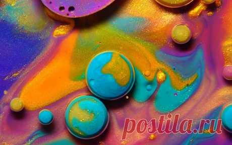 Что можно сделать с помощью красок, масел, меда и корицы? Thomas Blanchard «The Colors of Feelings»