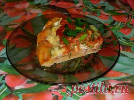 Belarusian option of the Italian pizza