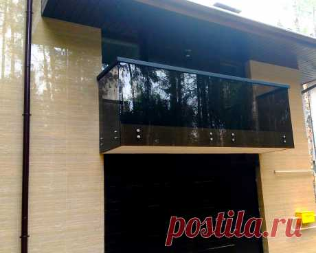 Стеклянные ограждения балконов