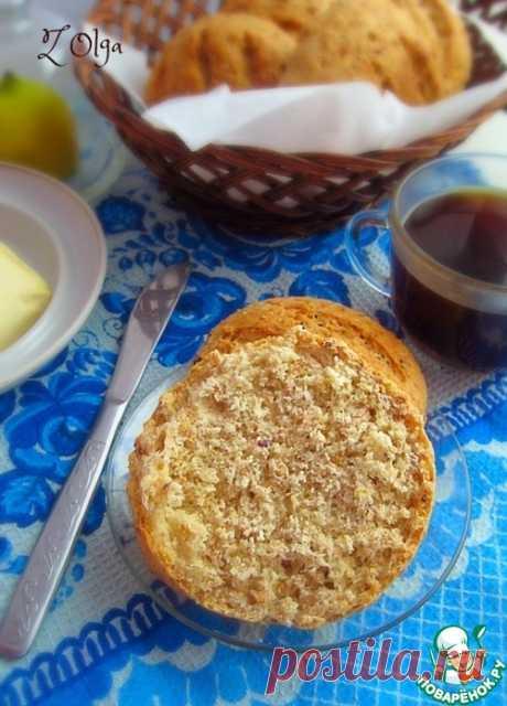 Булочки с зернистой горчицей – кулинарный рецепт