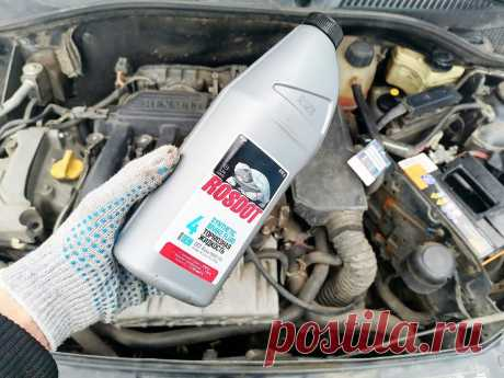 Спросил у знакомого автомеханика, как узнать когда пора менять тормозную жидкость, он показал простой способ | Поделкин | Яндекс Дзен