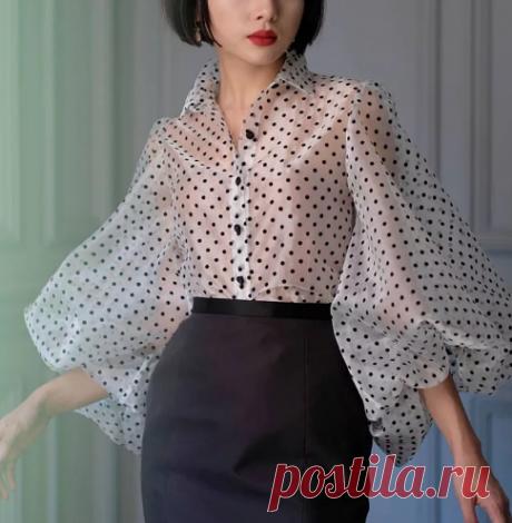 Выбираем романтическую блузку на осень 2019-2020: 6 самых стильных фасонов | Офигенная
