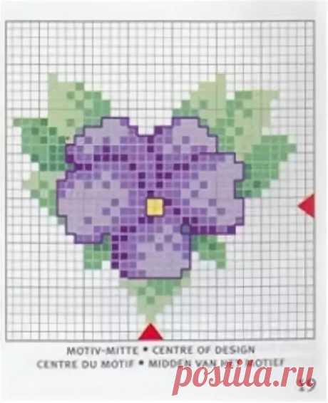 миниатюрная вышивка крестиком анютины глазки цветы: 6 тыс изображений найдено в Яндекс.Картинках