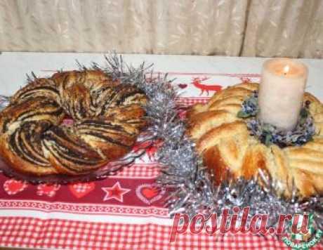 Рождественские калачи с маком и орехами – кулинарный рецепт