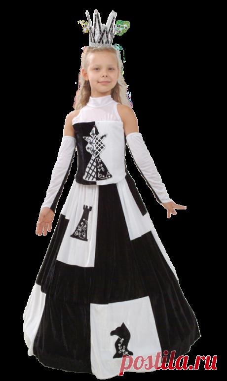 Purpurino Карнавальный костюм Шахматная королева 257/34