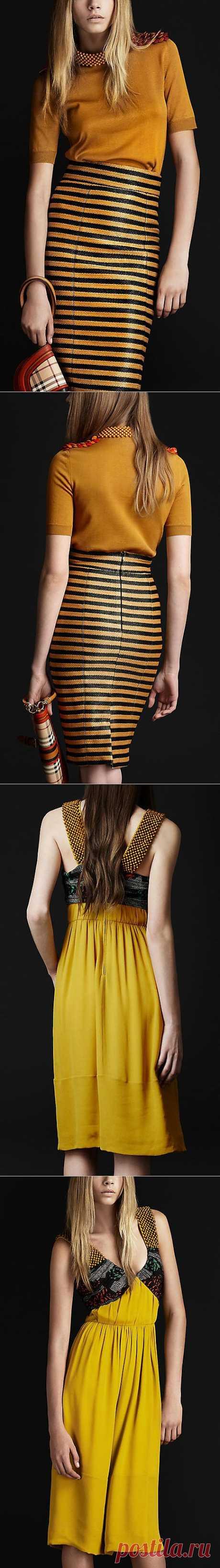 BURBERRY - отделка бусинами (Анна Б) / Декор / Модный сайт о стильной переделке одежды и интерьера
