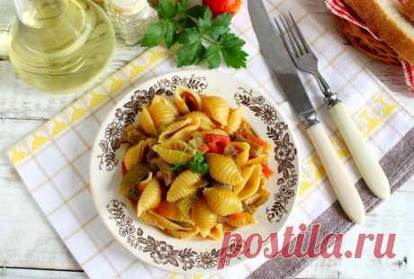 Макароны на сковороде рецепт с фото пошагово и видео - 1000.menu