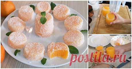 Мандариновый лукум — необычный рецепт домашнего десерта ...