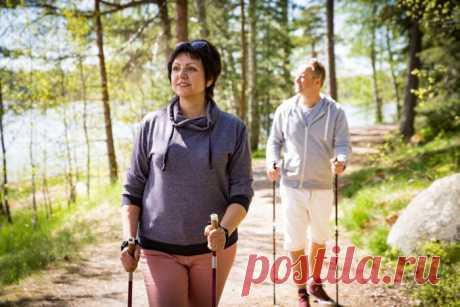Скандинавская ходьба: польза и вред спорта