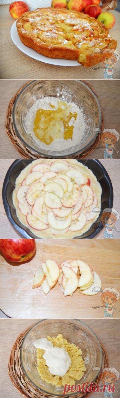 Цветаевский пирог с яблоками хочется готовить снова и снова!