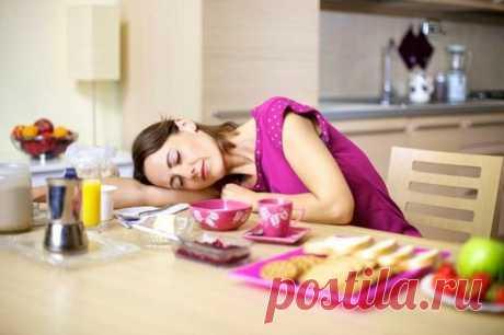 От каких продуктов хочется спать и почему | Всегда в форме!