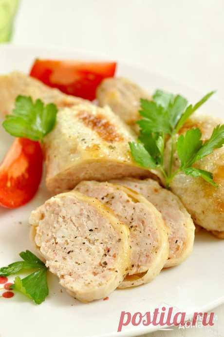 Фаршированные куриные окорочка - пошаговый рецепт с фото на Готовим дома