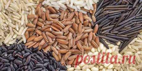 Полезные и целебные свойства риса.
