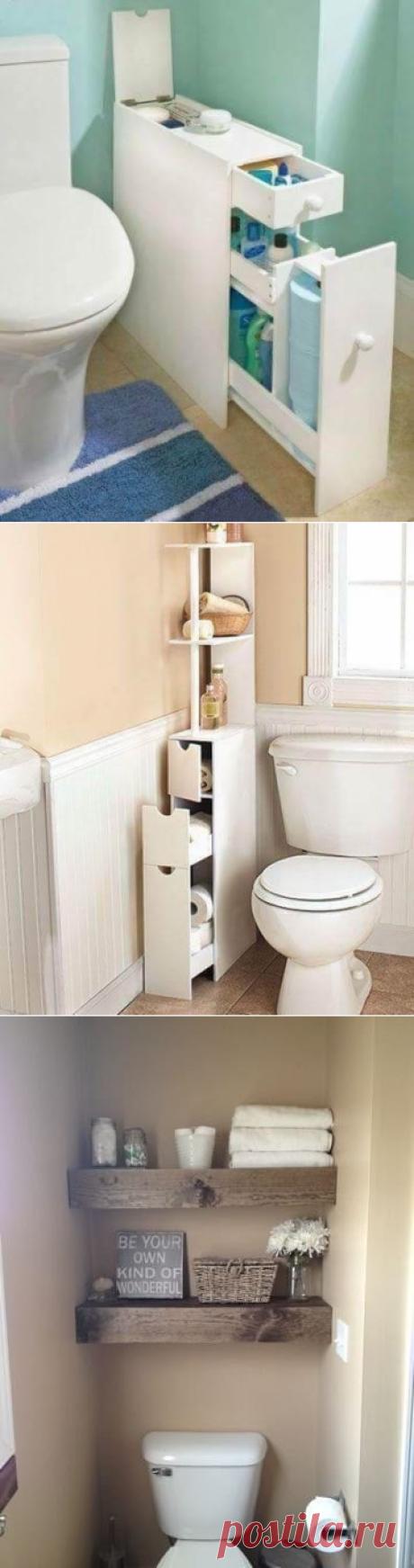 Десять идей организации хранения туалетных принадлежностей   Тысяча и одна идея